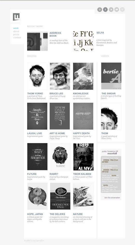 Mazefall | Designer