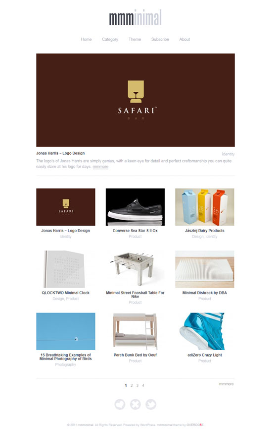 Mmminimal | Design