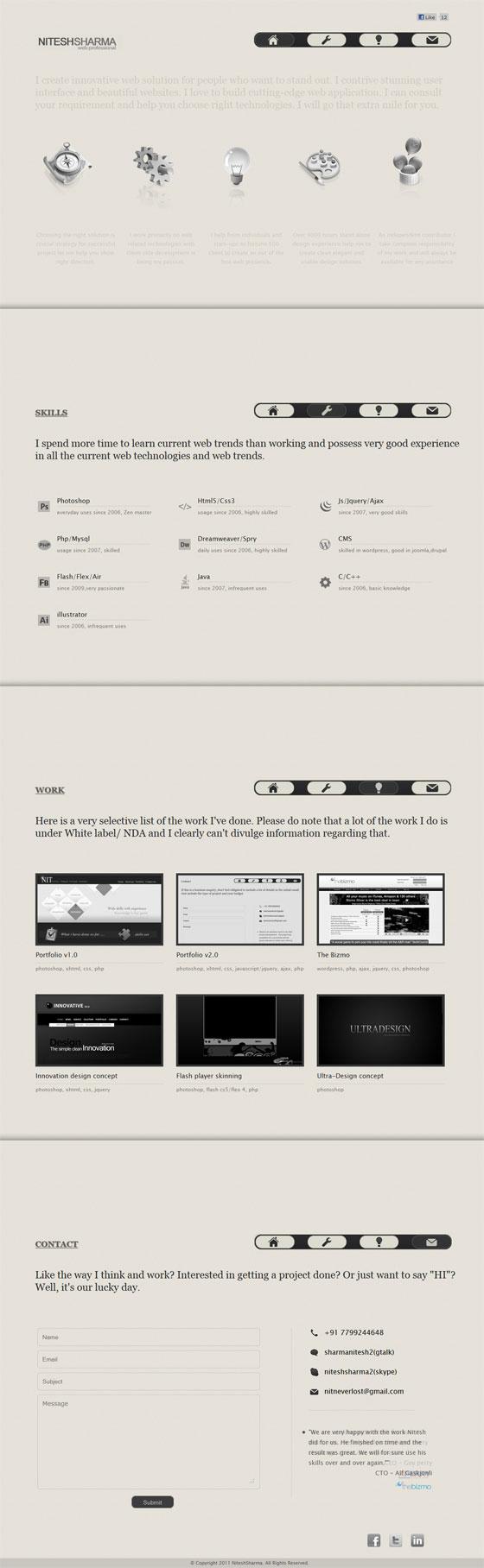 Nitesh Sharma | Web Design