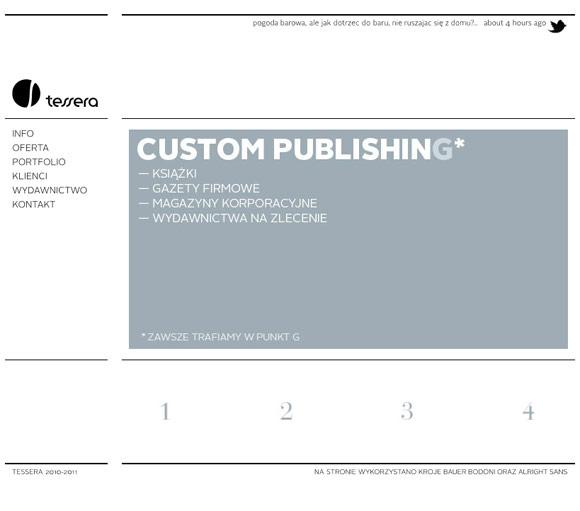 Tessera | Web Design