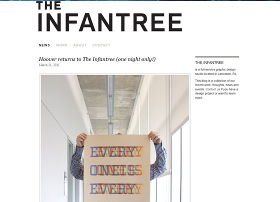 The Infantree   Graphic Design