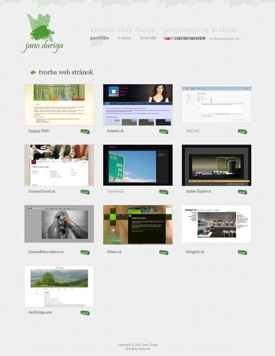 Jano Duriga | Web Design