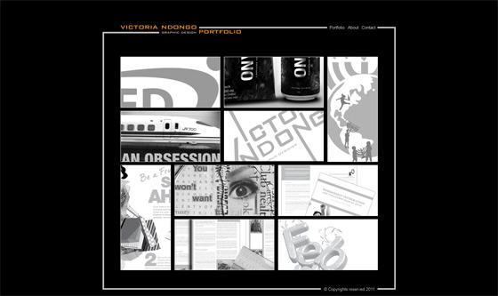Victoria Ndongo   Web Design