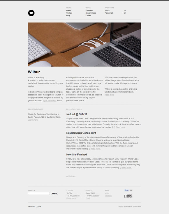Weltunit | Design